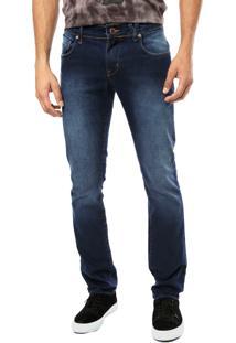 Calça Jeans Volcom 2X4 Iii Azul