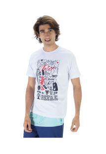 Camiseta Fatal Estampada 22137 - Masculina - Branco