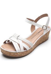 Sandália Dakota Tiras Branca