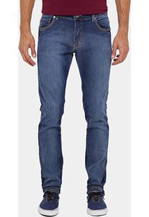 Calça Jeans Forum Paul Indigo Bord Masculina - Masculino
