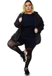 Legging Meia Calça Plus Size Wonder Size Hebe Feminina - Feminino
