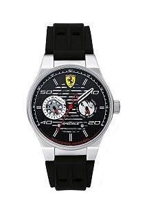 Relógio Scuderia Ferrari Masculino Borracha Preta - 830429