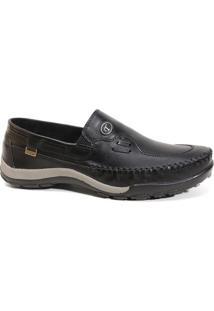 Sapato Tertuliano Mocassim 069 Masculino Preto