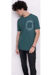 Camiseta Spray Bolso