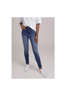 Calça Jeans Cigarrete Blue Médio Gang Feminina