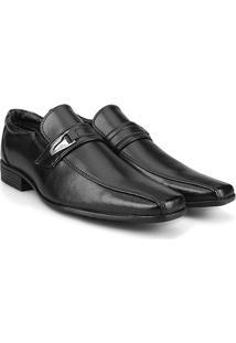 Sapato Social Wakalbout Masculino - Masculino-Preto