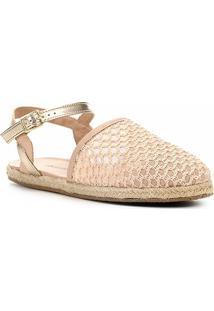 Sapatilha Shoestock Tricot Corda Feminina - Feminino-Nude