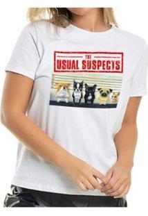 Camiseta The Suspects Buddies Feminina - Feminino-Branco