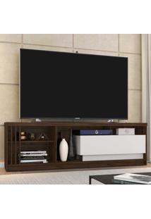 Rack Para Tv Até 70 Polegadas 1 Gaveta Veneto Rustic/Off White - Móveis Germai