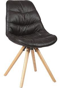 Cadeira Luci Preta Rivatti Móveis