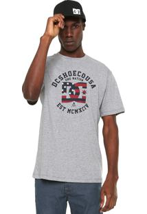 Camiseta Dc Shoes One Nation Cinza