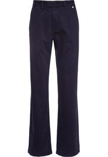 Calça Masculina Informal Chino - Azul