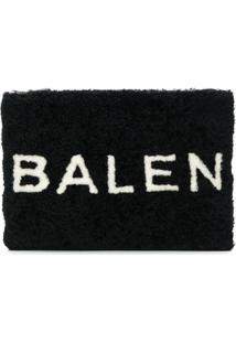 Balenciaga Clutch De Lã - Preto