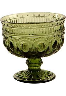 Taça De Sobremesa Jewelry Green
