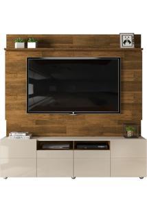 Home Quadrus Para Tv De Até 65' - Demolição Com Offwhite