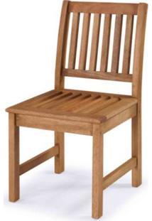 Cadeira Recanto Reta Stain Jatoba 44Cm - 60404 - Sun House