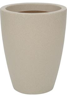 Vaso Malta Cônico 30X40Cm Granito Areia