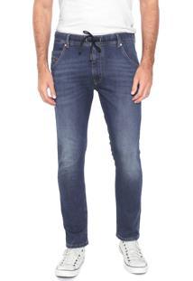 Calça Jeans Diesel Skinny Krooley Azul