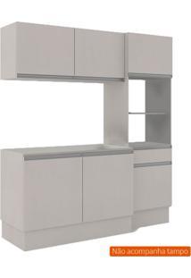 Cozinha Compacta Dion 6 Pt 1 Gv Off White