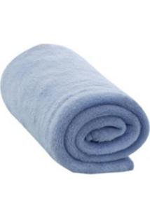 Cobertor Liso Camesa Azul