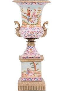 Vaso Decorativo De Porcelana Ming