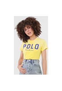 Camiseta Polo Ralph Lauren Logo Amarela