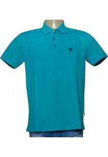 Camisa Masc Cavalera Clothing 03.01.3979 Azul Turquesa