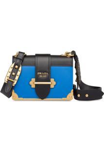 Prada Bolsa Cahier - Azul