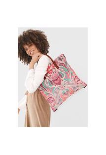 Bolsa Tiracolo Shopping Bag Multiverse Rosa