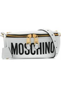 Moschino Pochete Com Logo - Branco