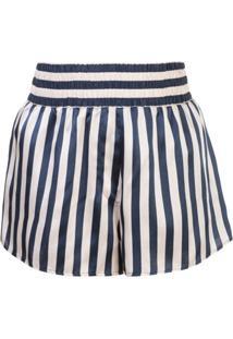 Morgan Lane Short De Pijama Corey Listrada - Preto