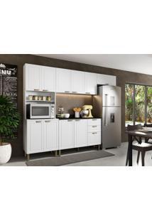 Cozinha Compacta Nevada Ii 10 Pt 3 Gv Branca