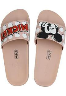Sandalia Fem Inj Zaxy Pop Mickey Slide 65169038