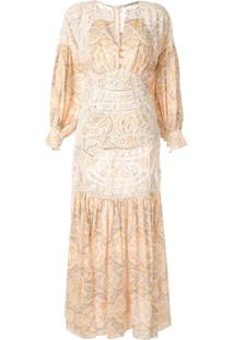 Thurley Muse Dress - Amarelo