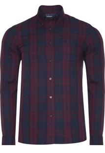 Camisa Masculina Winter Tartan - Roxo