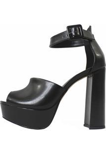 Sandália Damannu Shoes Tiffany Preta