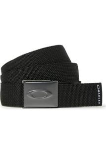 Cinto Oakley Web Belt - Masculino-Preto