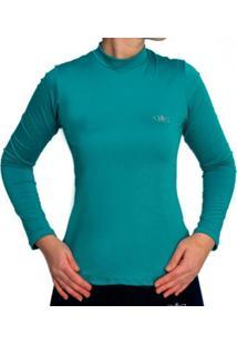 Camiseta Térmica Manga Longa Mprotect Verde Jade