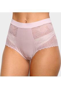 Calcinha Hot Panty Liz Renda 50906 - Feminino-Rosa