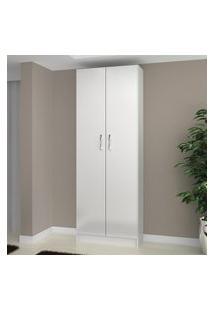 Armário Multiuso Branco 2 Portas Evidencia Móveis