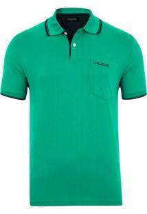Polo New Classic Verde Com Bolso