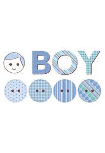 Adesivo De Parede Para Quarto De Bebê Boy