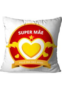Capa De Almofada Avulsa Decorativa Super Mãe