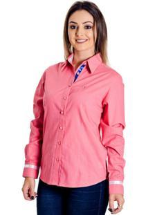 Camisa Pimenta Rosada Andy - Feminino-Rosa