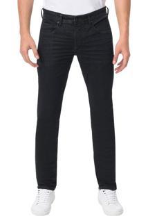 Calça Calvin Klein Jeans Skinny Five Pockets Preta - 48