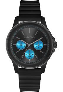 Relógio Mormaii Analógico Luau Mo6P29Am8A Preto