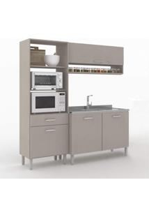 Cozinha Compacta 3 Peças 4 Portas Uccelli Vedere Moon