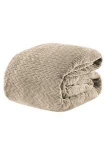 Cobertor Solteiro King Tress 2,20 M X 1,60 M - Home Style