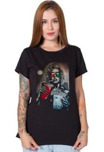 Camiseta Stoned Monroe 3D Feminina - Feminino