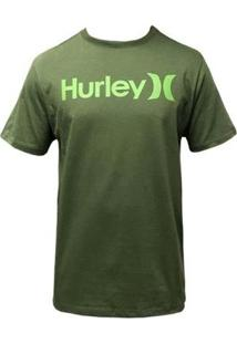 Camiseta Hurley Silk O&O Solid Masculina - Masculino